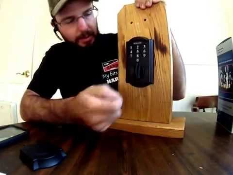 FAQ Battires Dead On Schalge Deadbolt Lock BE 375 How to Jump and Fix with 9v