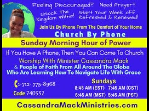 The Sunday Morning  Hour of Power With Cassandra Mack