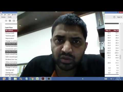 20. Hindi: Fundamental Analysis Live Session (Understanding Cash Flow Statement)