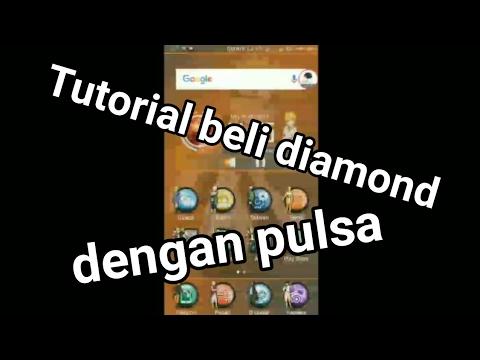 Tutorial Beli diamond mobile legends denngan Pulsa