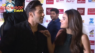 Varun Dhawan and Alia Bhatt | Most FUNNY Interview At Mirchi Music Awards 2017