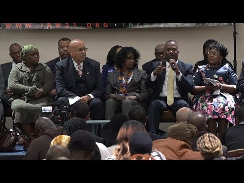 National Town Hall Meeting focused on Newark as Model City