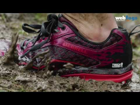 Merrell All Out Crush Tough Mudder Shoes - Light, protective performance