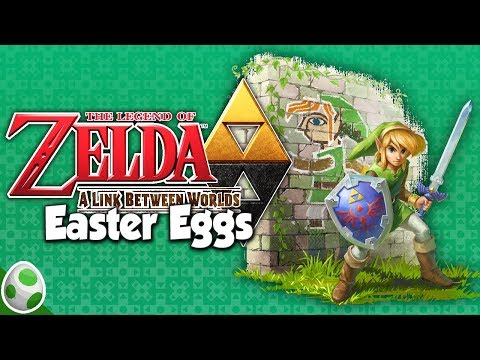 Easter Eggs in A Link Between Worlds - Merch + Zelda Stuff - Easter Eggs With DPadGamer
