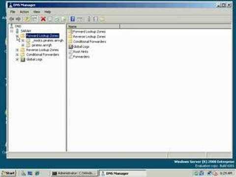 DNS Service in 2008 and Vista