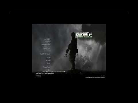 CoD4x 1.8 Client Install Tutorial with Fixes