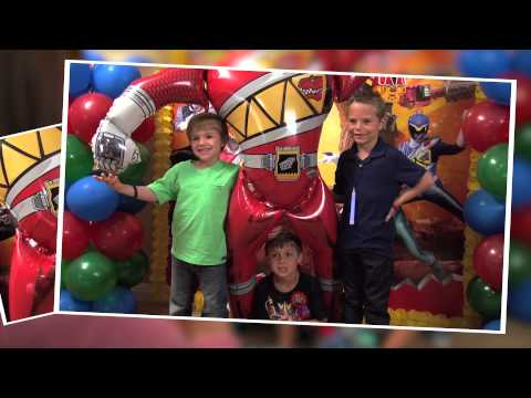 Power Rangers Dino Charge Party Ideas!