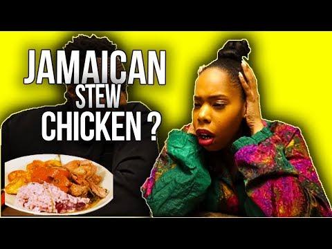 Jamaican Stew Chicken :  Reaction Video