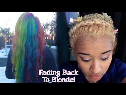 How To Get Back To Blonde Hair After Dying It With Semi or Demi Permanent Hair Dye | OffbeatLook