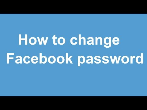 How to change Facebook password on Laptop/ Personal Computer / Mac book / Mobile device