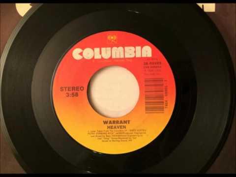 Heaven , Warrant , 1989 Vinyl 45RPM