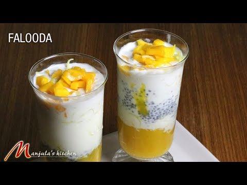 Falooda, delicious dessert beverage, receipe by manjula