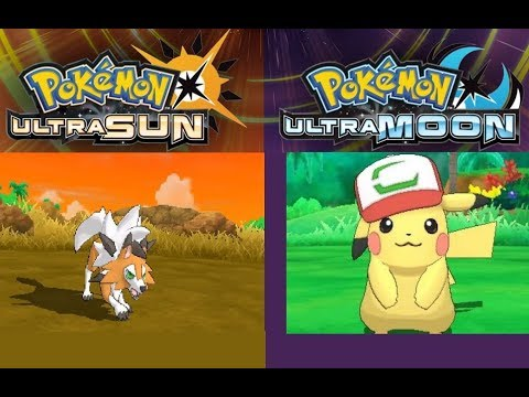 DUSK LYCANROC ON CITRA PC AND ASH PIKACHU - USUM