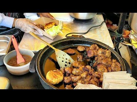 London Street Food from Jamaica. The Jerk Chicken at Camden Lock Market