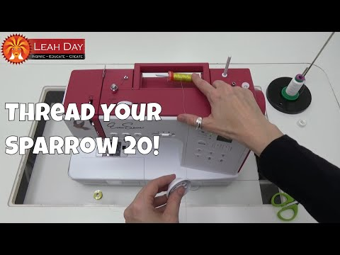 How to Thread the Eversewn Sparrow 20 Affordable Sewing Machine