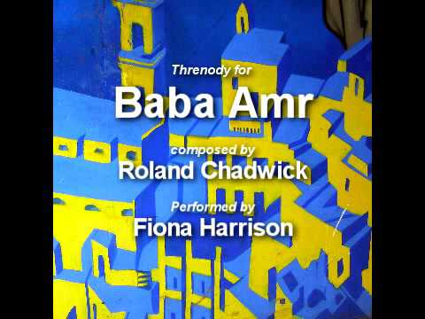 Roland Chadwick - Thredony for Baba Amr - Fiona Harrison Guitar