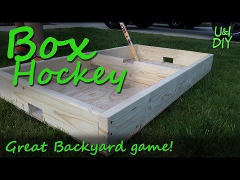 Box hockey - DIY tutorial