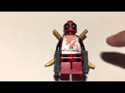 DIY Lego Deadpool
