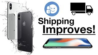 iPhone X Shipping Date Improvements!