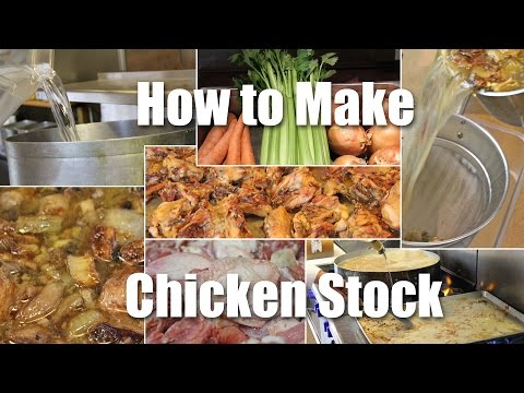 How To Make Roasted Chicken Stock