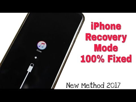 Fixed Recovery Mode In iPhone || Loop iTunes logo || Desabled iphone 100% Solution 2017
