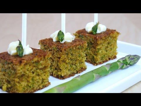 Asparagus Cake Pops hors d'oeuvre Recipe sasakiasahiさんのアスパラガスでケーキ