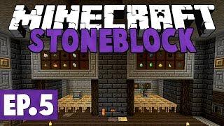 Mining Dimension | FTB Stoneblock 2 - Minecraft | Part 2