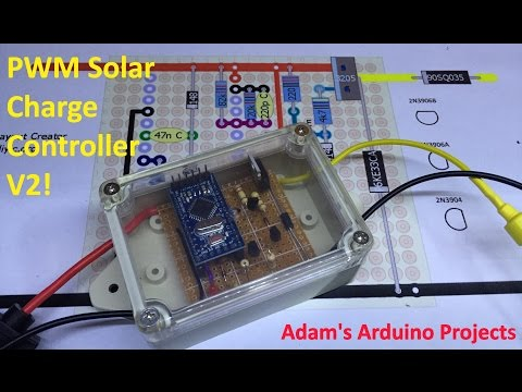 PWM Solar Charge Controller Version 2 - Adam's Arduino Projects