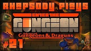 Let's Play Enter the Gungeon Advanced Gungeons & Draguns: Permanent Invincibility - Episode 21