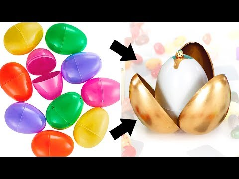 DIY Harry Potter Easter Eggs! ~ Hogwarts Houses ~ Golden Snitch Ring Box Craft