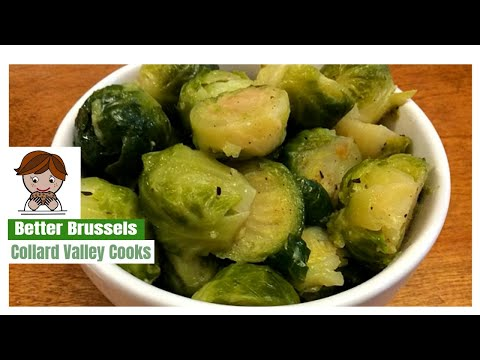 Brussel Spouts: Cooking on the Stove top with Steam brings out the Brussels Flavor!