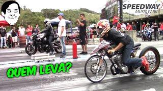 B-KING VS CG #ARRANCADA DE MOTOS EM BC#
