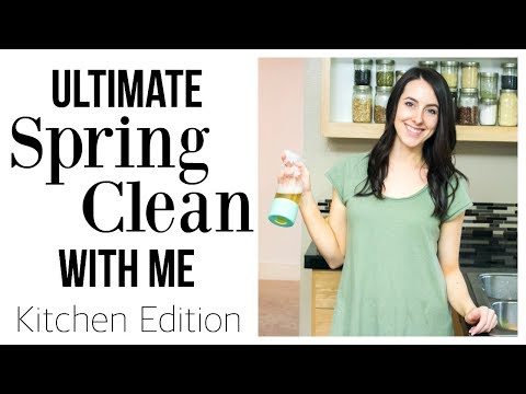 Clean With Me Ultimate Konmari Kitchen Declutter