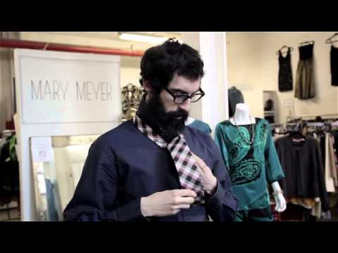 How to Shorten a Tie : Fashion Forward