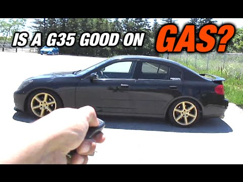 Is a G35 Good On Gas??? - MPG Test
