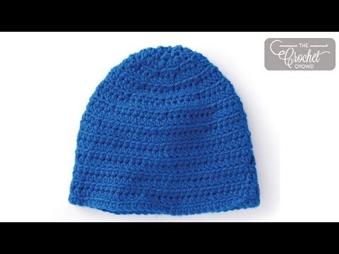 How to Crochet A Hat: Adult Size