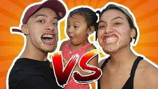 MOUTH GUARD CHALLENGE! (Boyfriend VS Girlfriend) *EXTREMELY FUNNY*