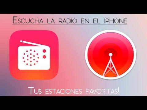CÓMO ESCUCHAR LA RADIO DESDE EL IPHONE