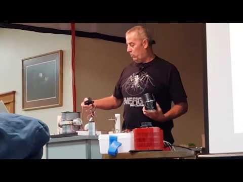 Geoffrey miller demostration of small Newman motor