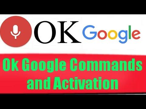 Best OK Google Voice Recognition Commands and Activation (Google Now)