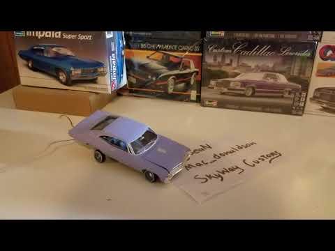67 Chevy Impala model car hydraulic Hopper