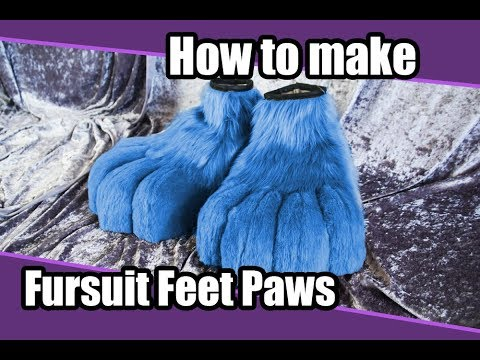 //Tutorial #2// Feet paws