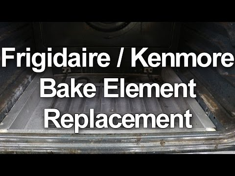 Frigidaire / Kenmore Oven Not Heating - Bake Element Replacement