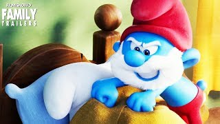 Smurfs: The Lost Village | Enter the Forbidden Forest again with Smurfette, Brainy, Clumsy and Hefty