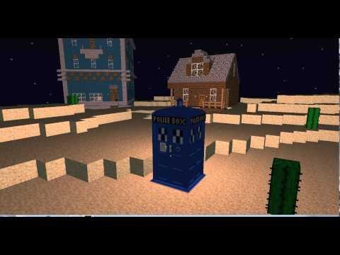 Tardis Regeneration in Minecraft