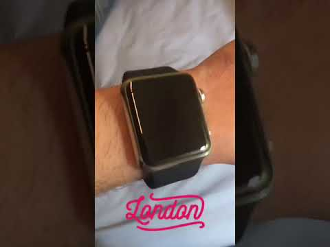 How does the Apple Watch Look Like On A Skinny Wrist 130mm
