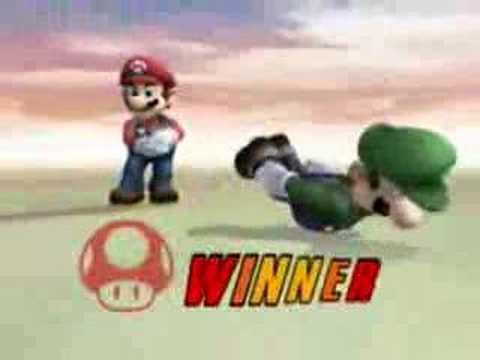 Luigi Bang Bang - Super Smash Bros Brawl