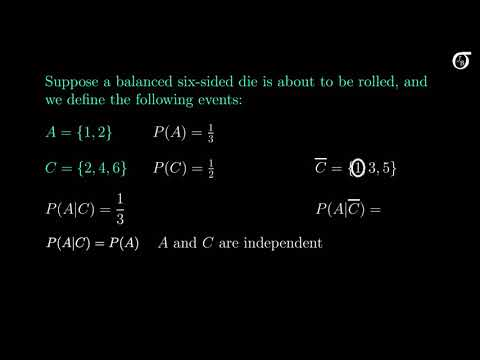 Independent Events (Basics of Probability: Independence of Two Events)
