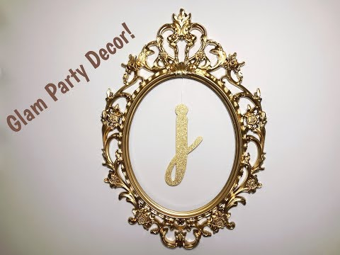 Glam DIY Party Decor for Under $5 - Baby Shower Series