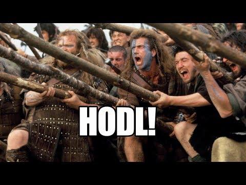 The Origin of HODL